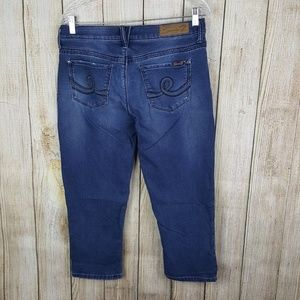 Seven7 Girlfriend Jeans Womens Size 6 Distressed